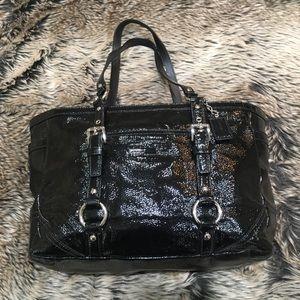 Coach Patent leather Gallery Tote No. L1173-10380M